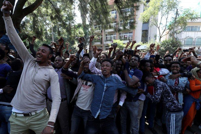 Korban tewas protes kematian penyanyi di Ethiopia melonjak jadi 156