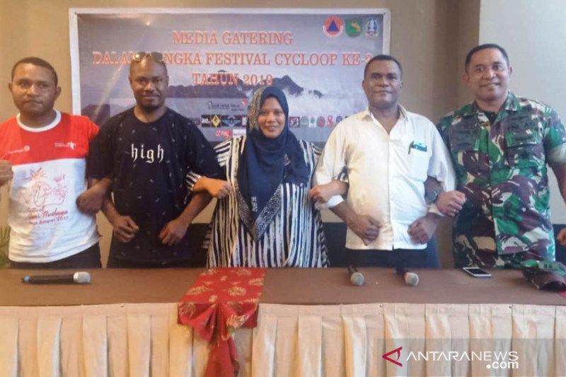 Festival Cycloop II digelar di Tugu Infantri Rindam XVII/Cenderawasih