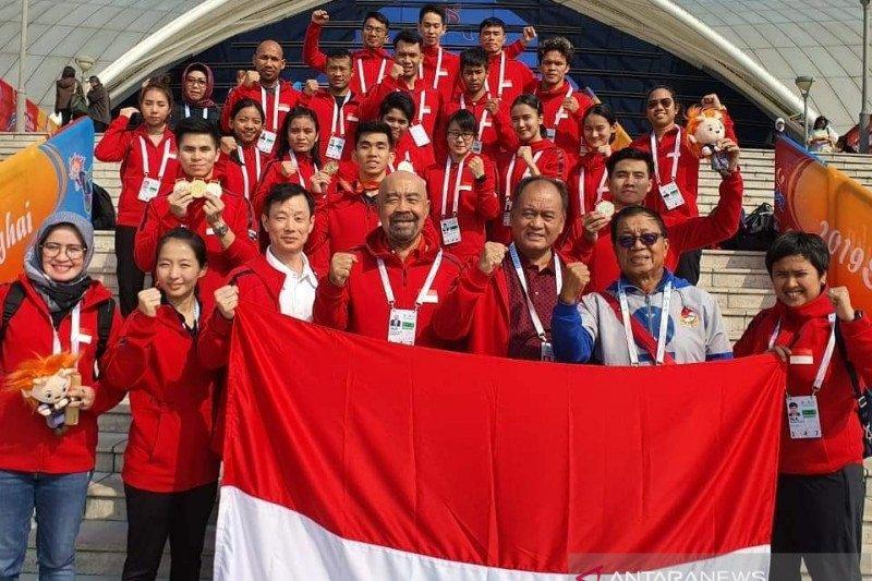 Kontingen Indonesia tambah perolehan emas di Kejuaraan Dunia Wushu