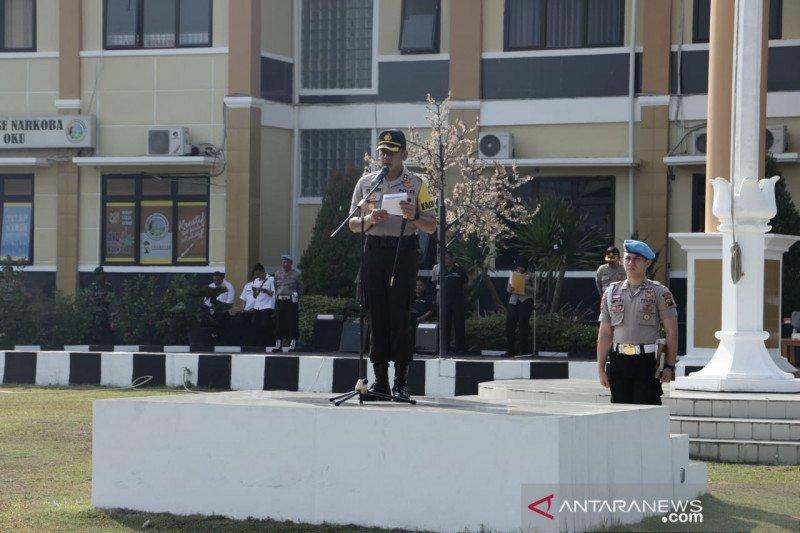 Polres Ogan Komering Ulu  gelar apel pasukan Operasi Zebra Musi 2019