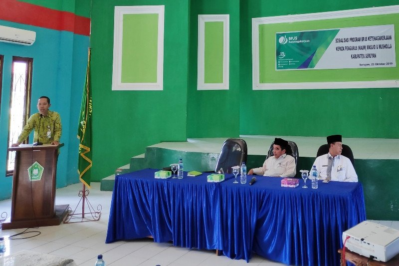 Pengurus masjid pun jadi peserta BPJS Ketenagakerjaan