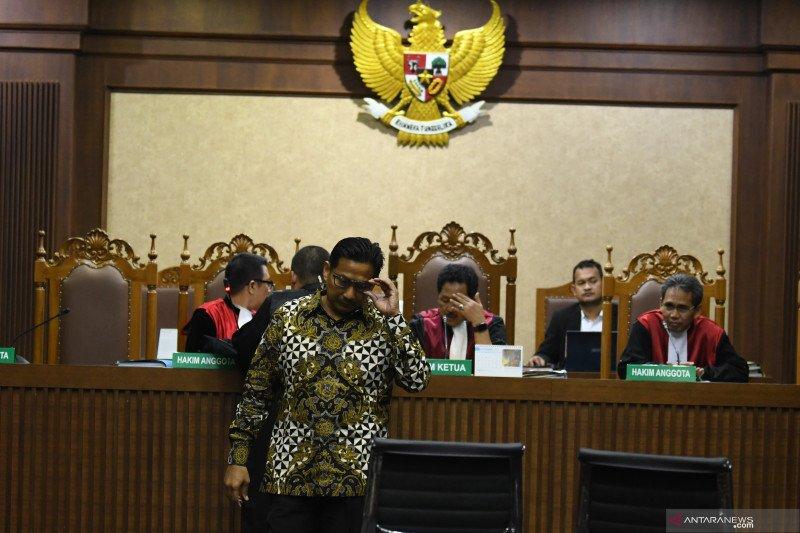 "Bowo Sidik dituntut 7 tahun bui, jaksa tolak permintaan ""justice collaborator"""