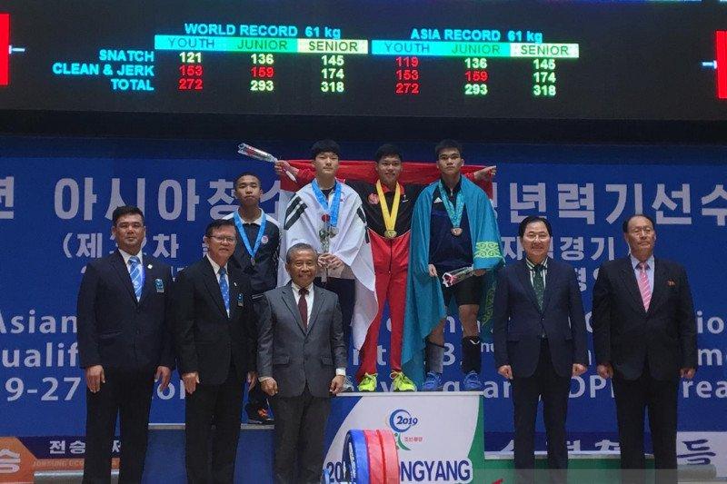 Indonesia borong medali di Kejuaraan Angkat Besi Asia Junior
