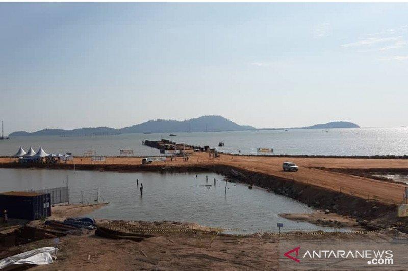 Lebih cepat, Pelabuhan Kijing beroperasi sementara akhir Agustus