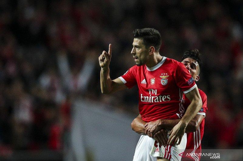 Benfica raih kemenangan perdana di  Liga Champions musim ini
