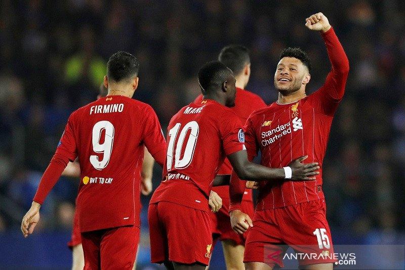 Chamberlain cetak dua gol saat Liverpool bungkam Genk 4-1