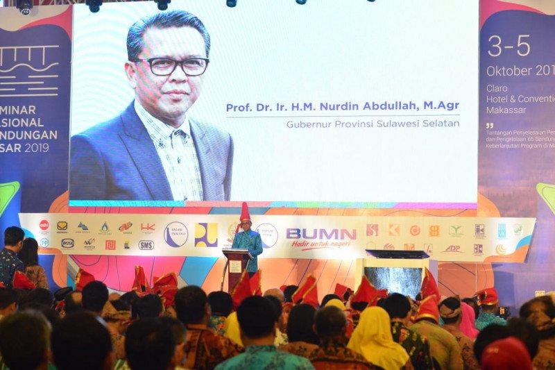 Gubernur Sulsel ucapkan terima kasih kepada Amran Sulaiman yang majukan pertanian