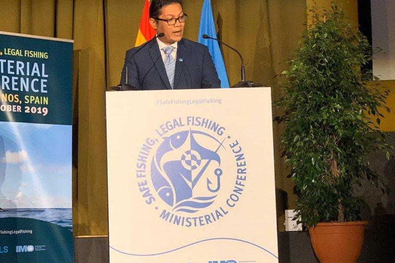 Pasca-Susi, KKP terus  suarakan berantas illegal fishing global