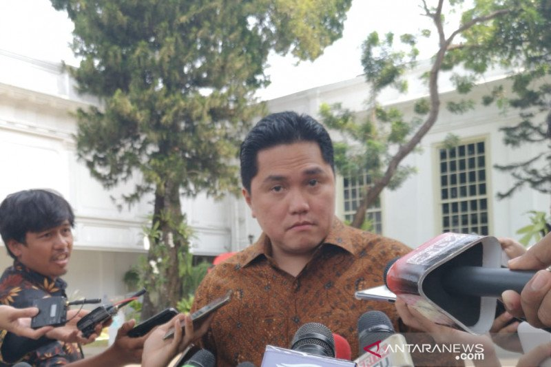 Menteri BUMN berharap Presiden segera angkat wamen