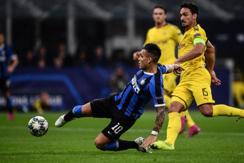 Inter Milan taklukkan Dortmund, perbesar peluang lolos fase grup F