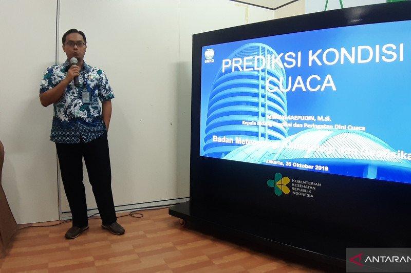 Sulawesi masih berpotensi terjadi cuaca panas dalam  sepekan ke depan