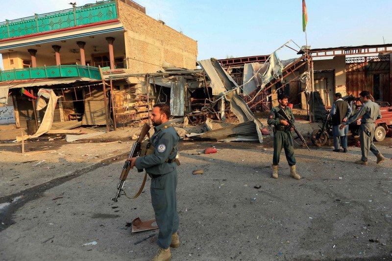 ISIS serang pasukan Afghanistan, tahanan kabur massal