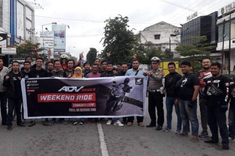 Honda ADV150 Weekend Ride