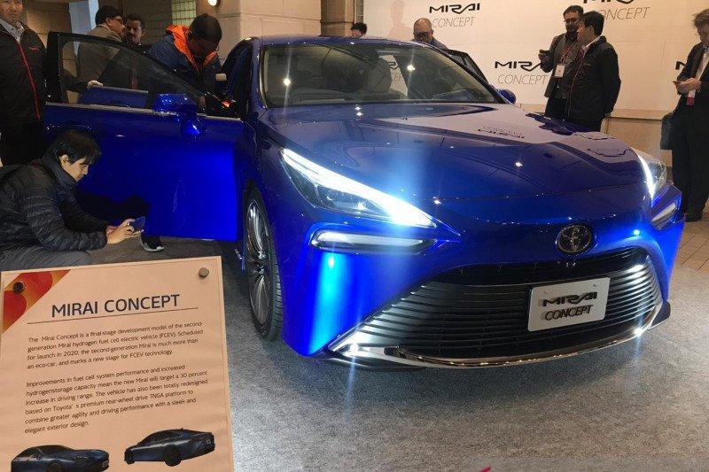 Ini mobil hidrogen Toyota Mirai baru di Tokyo Motor Show