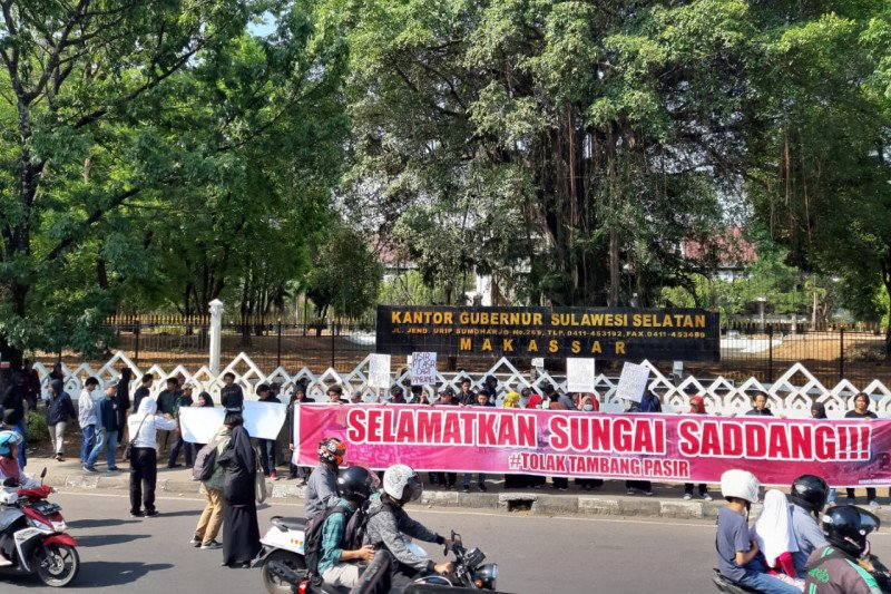 APR Salipolo Pinrang protes aktivitas galian tambang di bantaran Sungai Saddang