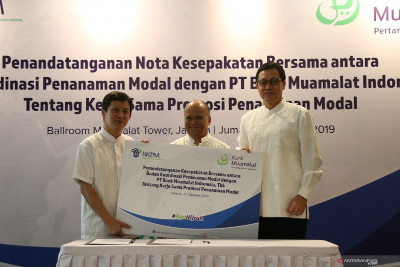 Bank Muamalat gandeng BKPM untuk incar investor asing
