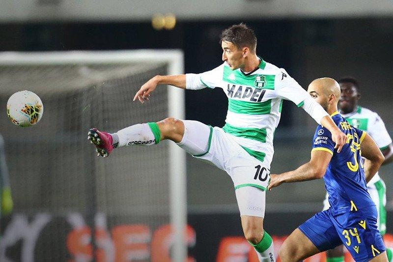 Sassuolo mencuri tiga poin dari Verona