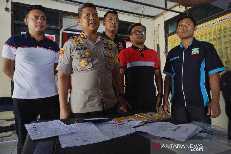 Polres Mataram tangkap bendahara pokmas rumah tahan gempa