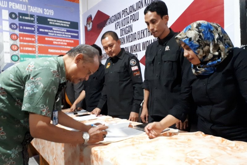 KPU gandeng media untuk tangkal berita hoaks Pilkada Kota Palu 2020