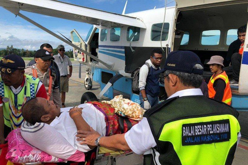 Staf Kementerian PUPR korban panah dievakuasi ke Jayapura