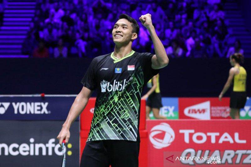 French Open, Jonatan akui keunggulan Chen  Long di final
