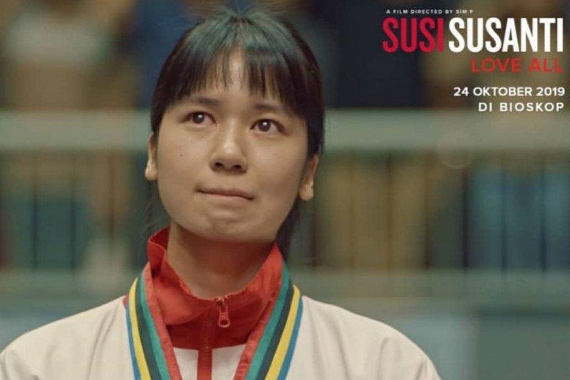 """Film  """"Susi Susanti Love All"""" padukan tontonan dan tuntunan"""