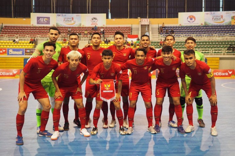 Indonesia raih juara dua kejuaraan  Futsal Piala AFF