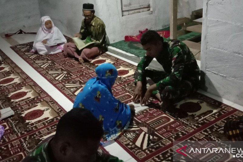 Satgas TMMD tingkatkan pengetahuan agama anak-anak di desa terpencil