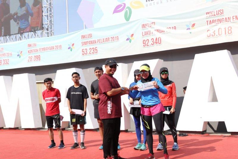 Pj Wali kota Makassar  apresiasi Expo Literasi OJK