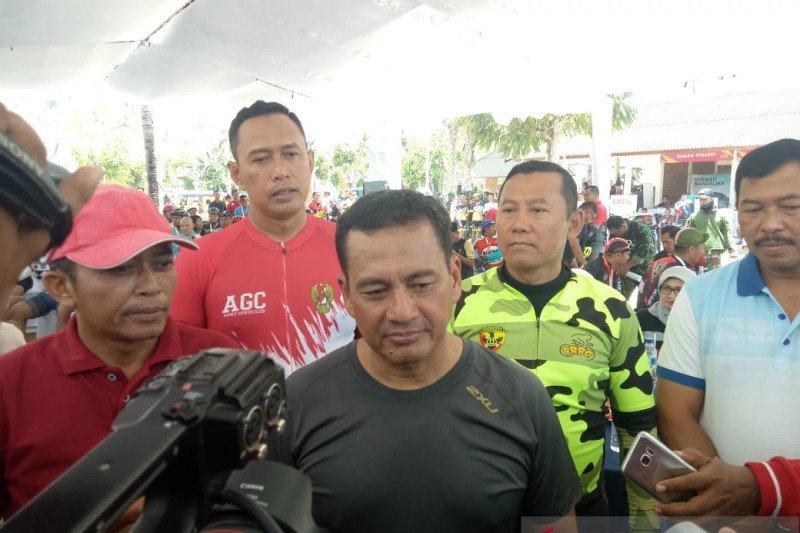 Wakasad memeriahkan Mandalika Gowes Lombok