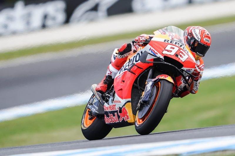 Marquez menang dramatis di GP Australia