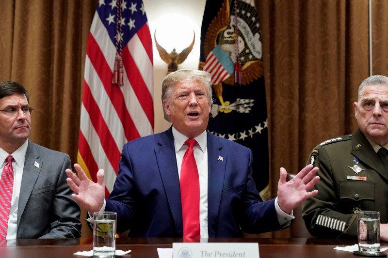 Pemimpin IS jadi sasaran pasukan AS