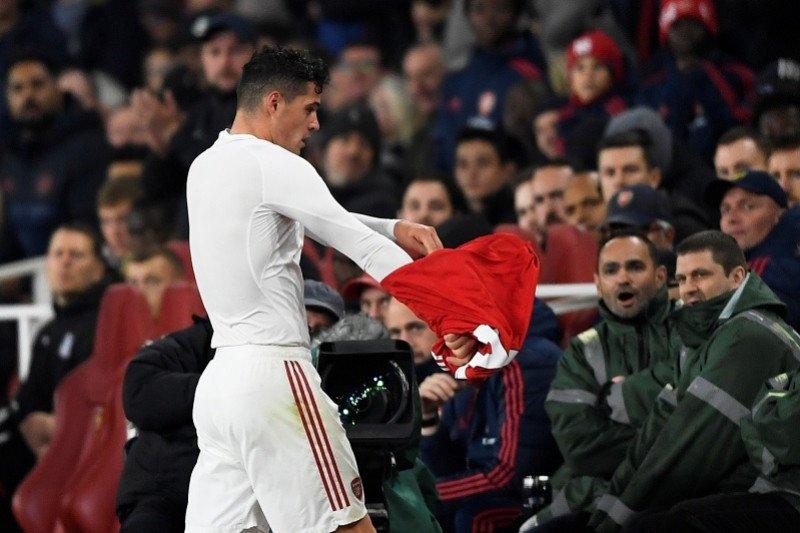 Cekcok dengan pendukung, apakah Xhaka masih bisa di Arsenal?