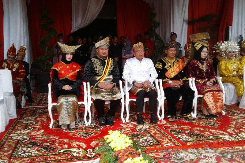 Moeldoko apresiasi pakaian upacara sumpah pemuda di Dharmasraya