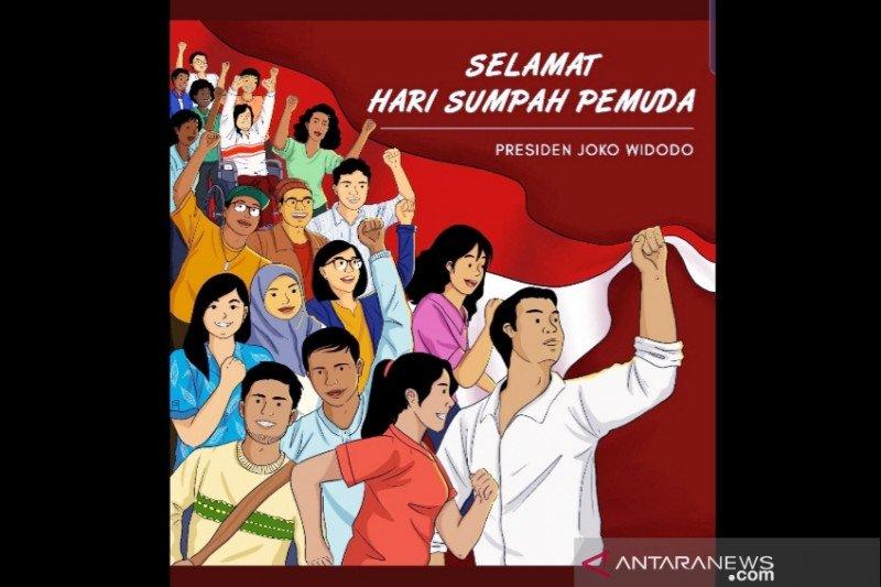 Presiden Jokowi ajak bangun Indonesia rayakan Sumpah Pemuda