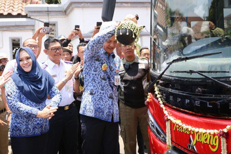 BRT Transjateng Semarang-Kendal diluncurkan, pelajar bayar Rp2.000