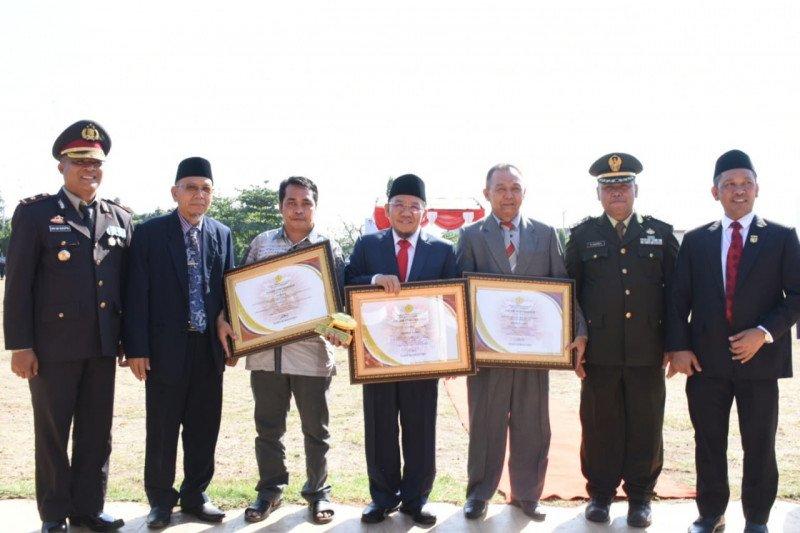 Peringatan HSP Ke-91 di Lombok Utara Integrasi Upacara Paripurna Bulanan