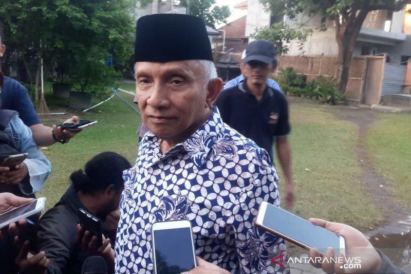Amien Rais mengaku masih menahan diri kritik Kabinet Jokowi