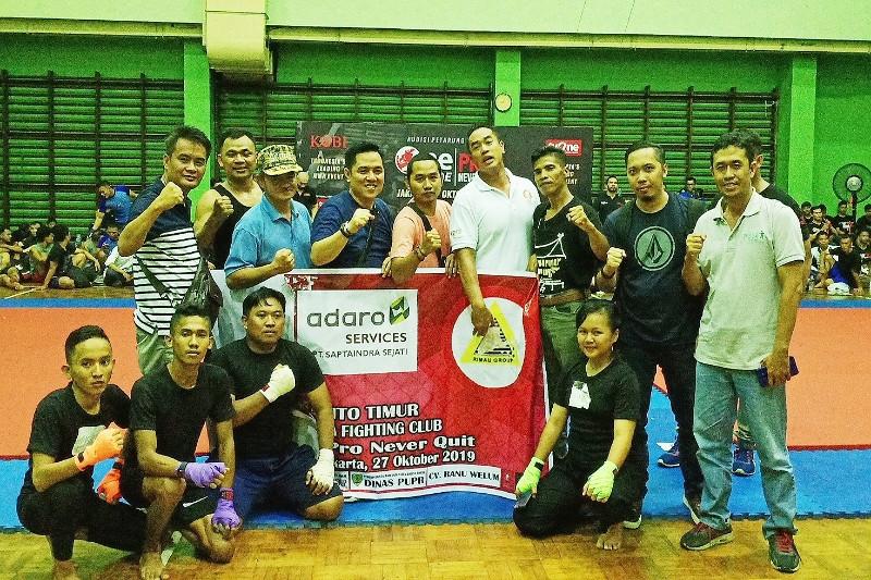 Empat atlet Bartim lulus audisi One Pride Pro Never Quit