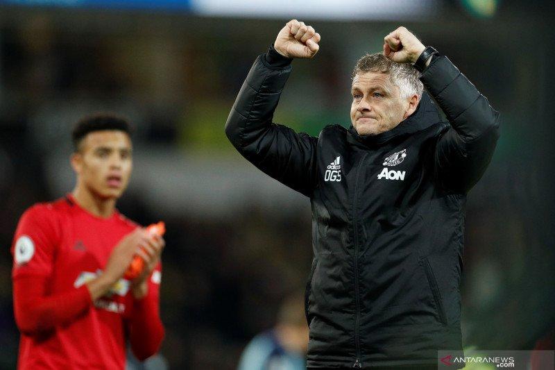 Respon Solskjaer saat MU diberi penalti lawan Norwich