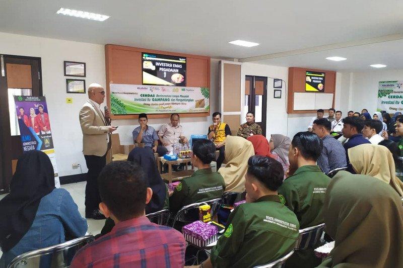Pegadaian Kalselteng adakan kuliah lapangan di Fisipol UM Palangka Raya