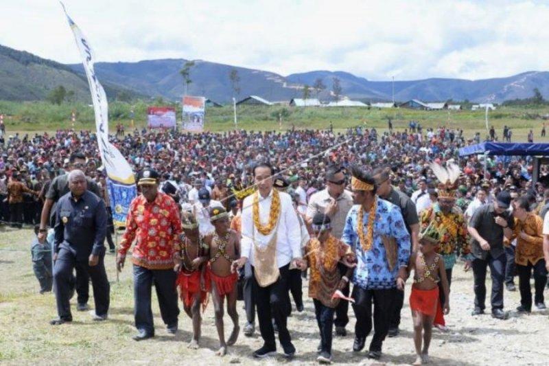 Kunjungan Presiden Jokowi ke Papua Barat