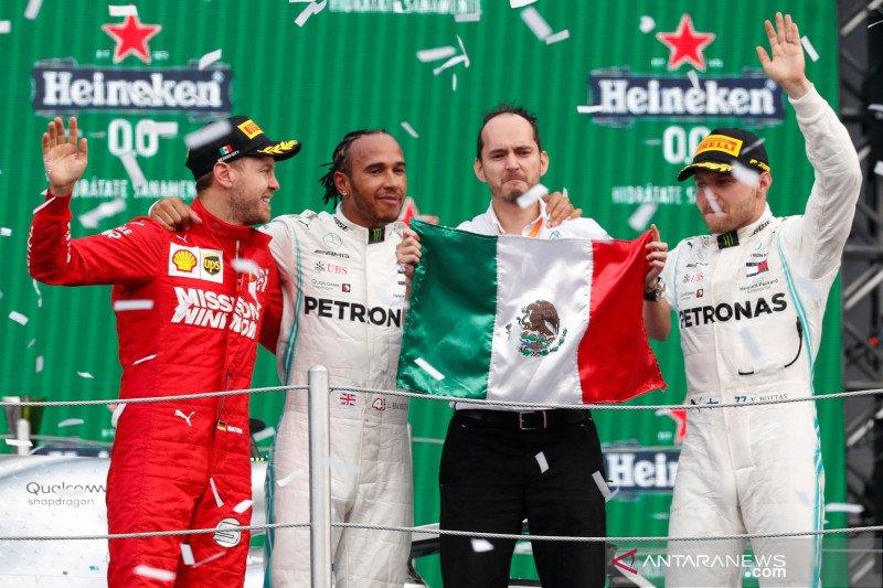 Ini hasil Grand Prix Meksiko 2019