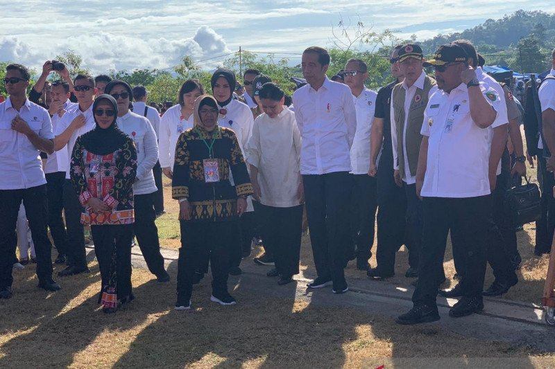 Jokowi stresses public alertness against natural disasters