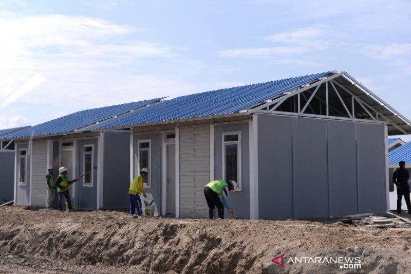 Jokowi apresiasi swasta bantu pembangunan rumah korban gempa Palu