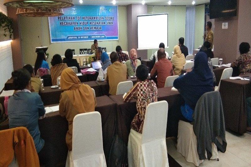 Dinkes Papua latih 23 guru periksa gangguan kesehatan jiwa