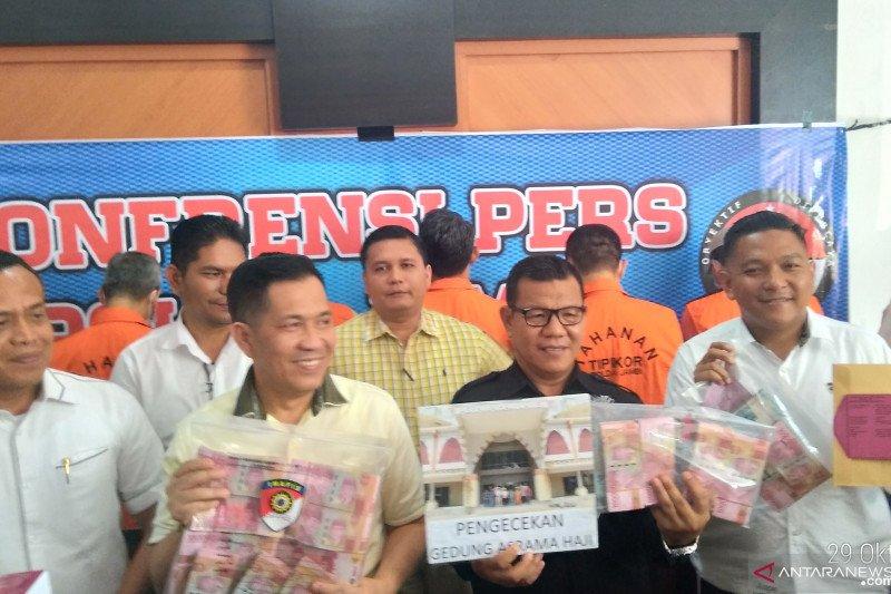 Polda limpahkan tujuh tersangka korupsi Asrama Haji Jambi
