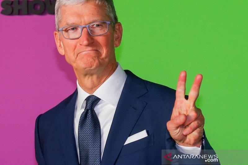 Gara-gara corona, Tim Cook minta karyawan Apple kerja dari rumah
