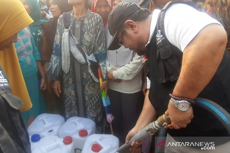 ACT salurkan 130 ribu liter air bagi warga terdampak kekeringan