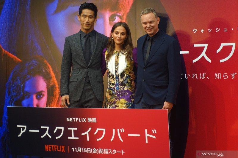 "Budaya Jepang diresapi Alicia Vikander untuk film ""Earthquake Bird"""